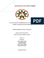 Metodos de Resolucion de Conflictos-grupo 3- 8 b