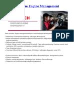 Bosch engine management
