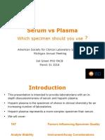 #32+SERUM+vs+PLASMA
