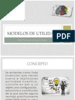 Modelos de Utilidad Pi