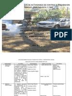 PLAN DE IMPLEMENTACION DE ACTIVIDADES DE CONTROL Y PREVENCIÓN DE ARBOVIROSIS 2019