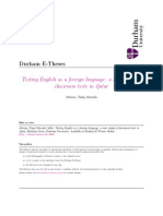 Testing English as a foreign language a case study of.PDF