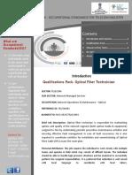 Dpq Optical Fiber Technician
