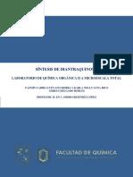 Reporte Diantraquinona