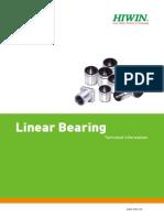 Linear Bearing Hiwin