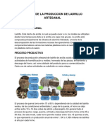 Modelo de La Produccion de Ladrillo Artesanal