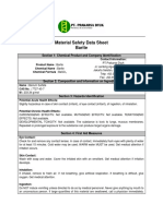 Material Safety Data Sheet - Barite