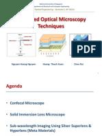 Advanced Optical Microscopy Techniques