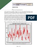 Stock Volatility Perspective