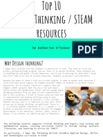 top 10 design thinking steam resources