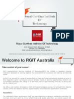 Royal Gurkhas Institute Of Technology (RGIT) Australia