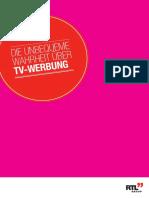 2010 Die Unbequeme Wahrheit Ueber TV-Werbung