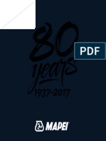 Know about the 80 years of Mapei Journey