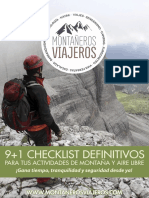 eBook Montaneros Viajeros Checklists