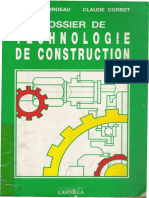 Dossier de Technologie de Construction Mécanique 1