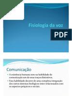 02. Fisiologia Da Voz