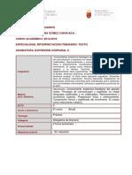 Expresión Corporal II Textual
