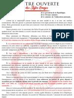 Lettre Ouverte Version 3.2 Rouge 4