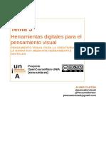 Tema3 Herramientas Digitales Para El Pensamiento Visual UNIA