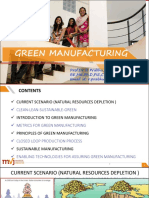Green Manufacturing Scribd