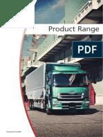 UD Trucks Range Brochure July 2015