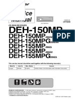 Pioneer Deh-150mp Deh-155mpg Crt5059