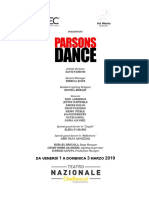 Parsons Dance 2019 CS Milano