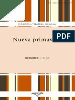 Nueva primavera - Heinrich Heine