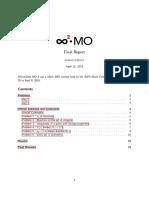 InfinityDots MO 2 Final Report