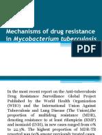 Mechanisms of Drug Resistance in Mycobacterium Tuberculosis