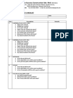 Scaffolding Element Checklist