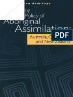 Comparing the policy of aboriginal assimilation