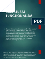 Structional Functionalism