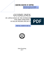 Guidline in Polar Water RMRS