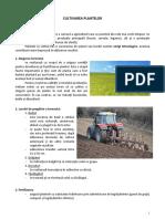 Cultivarea Plantelor - Ed Tehnologica