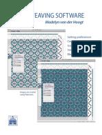 Weaving Software Handbook