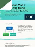 Siew Soon Wah v Yong Tong Hong-Lease