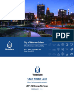 City of Winston-Salem 2017-2021 Strategic Plan Update Report