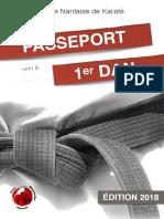 Passeport Vers Le 1er DAN 2018