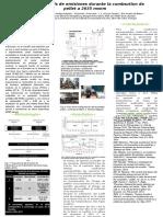 Primer Analisis de Emisiones Durante La Combsution de Pellet a 2635 Msnm