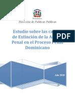 Estudio Sobre Las Causas de Extinción de La Acción Penal en El Proceso Penal Dominicano