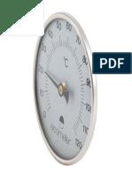 Termómetro magnético