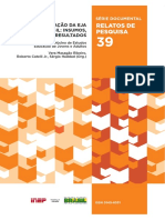 A Avaliação Da EJA No Brasil Insumos, Processos, Resultados