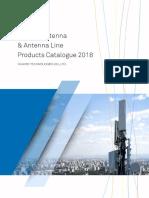 ! Huawei Antenna Catalogue 2018