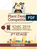 Plant Design Competition Guidebook 2nd Stage- Ichec 2018
