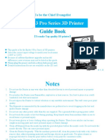 Ender-3 Pro Guide Book