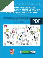 Gestión Positiva de Conflictos y Mediación en Contextos Educativ