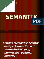 Definisi Semantik