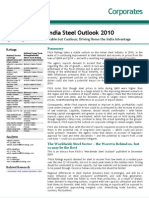 India Steel Outlook 2010