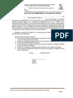 Anexos Para El Postulante Nombramiento Administrativo-directiva n.º 002 - 2019-Ugel Recuay